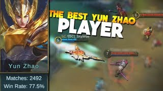 Mobile Legends Best Yun Zhao Player! (2492 GAMES!)