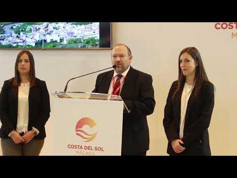 Presentación de Benamargosa en Fitur 2019. Habla su alcalde, José Gallego