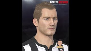 Alan Shearer PES 2018 Face Build