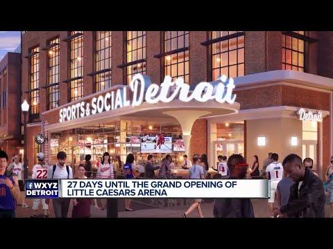 Little Caesars Arena 101