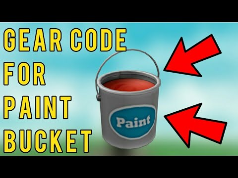 Paint Bucket Code For Khols Admin House Roblox Youtube