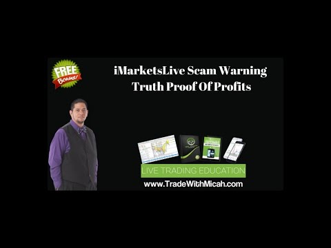 iMarketsLive Scam Warning Truth - IML Proof Of Profits