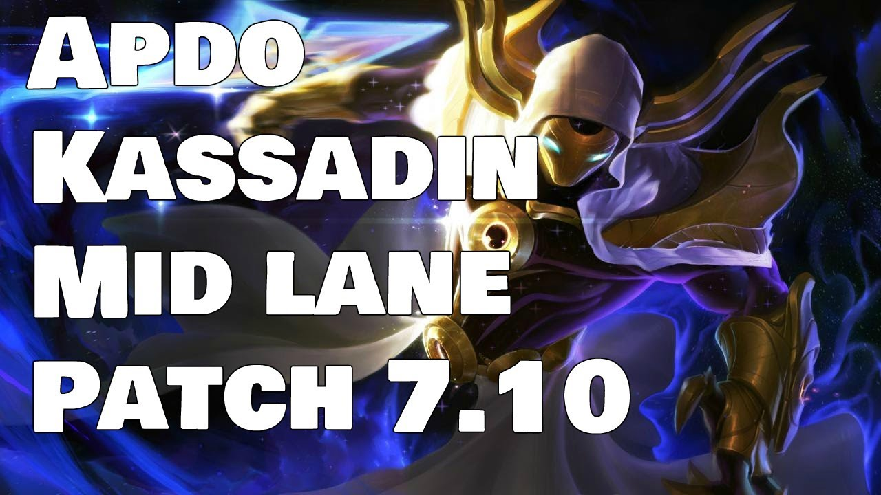Apdo - Kassadin vs Zed Patch 7 10