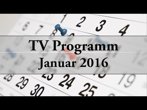 Das TV Programm: #1:  Januar 2016