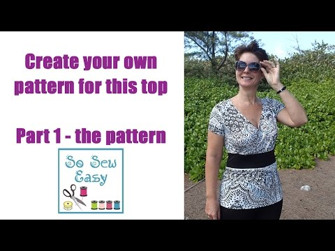 Create your own pattern for this cross over top