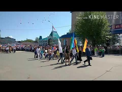 Парад 2019 г.Чистополь