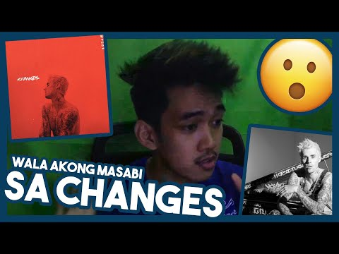 REACTING TO CHANGES ALBUM BY JUSTIN BIEBER   JZTV