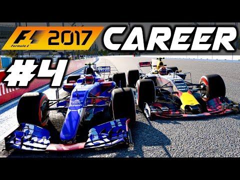 F1 2017 Career Mode Part 4: INTENSE RUSSIA RACE