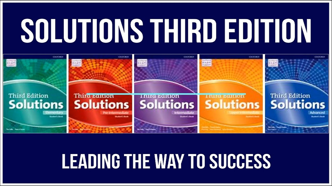 Solutions 3rd   خرید کتاب زبان سولوشن ویرایش سوم   خرید اینترنتی کتاب Solutions 3rd