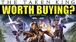 destiny is the taking king worth buying or is it all hype