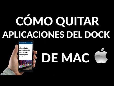 ¿Cómo Quitar Aplicaciones del Dock de Mac? Rápido y Fácil