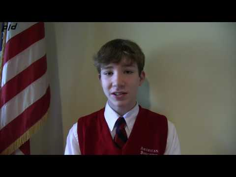 The American Boychoir School: Flag Ceremony