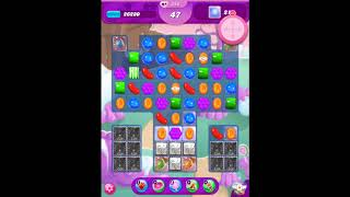 Candy Crush Saga ~ Level 346 ~ Hard Level ~ No Boosters ~ ★★★