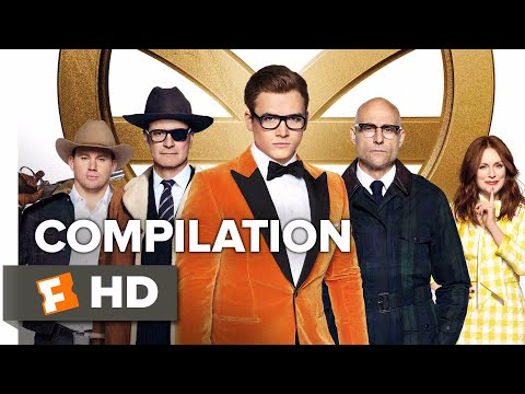 Kingsman: The Golden Circle ALL Trailers + Clips (2017)   Movieclips Coming Soon