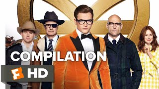 Kingsman: the golden circle all trailers + clips (2017) | movieclips coming soon