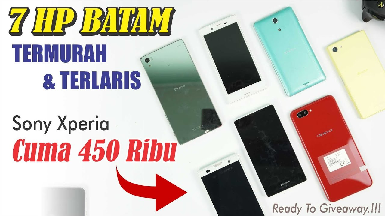 Unboxing 7 Tujuh Hp Batam Termurah Terlaris 2018 Youtube
