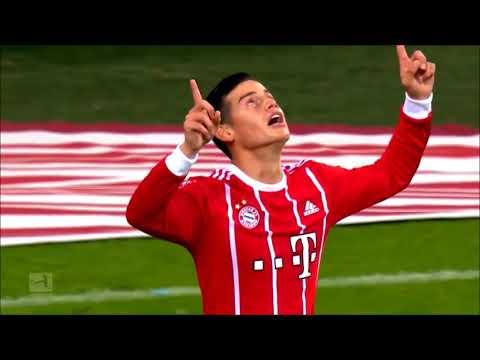 James rodriguez destroying Schalke with Crazy Skills ( Fc bayern vs schalke )