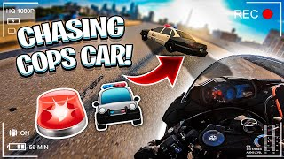 CHASING COPS ON OUR STREET BIKES ! **THIS HAPPENS** BRAAP VLOGS