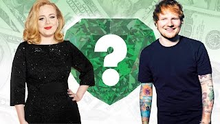 WHO'S RICHER? - Adele or Ed Sheeran? - Net Worth Revealed!