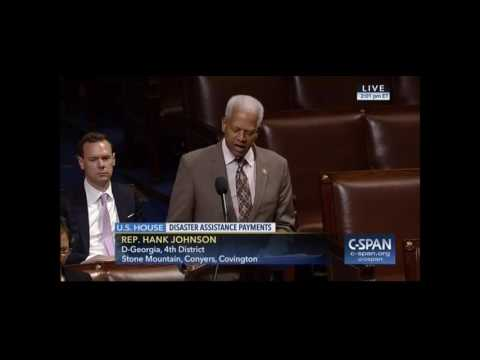 Congressman Johnson on the Robert T. Stafford Disaster Relief and Emergency Assistance Act