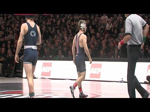 Big Ten Rewind: 2017 Wrestling - 141 LBs - Penn State's Jimmy Gulibon vs. Ohio State's Luke Pletcher