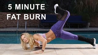 5 minute fat burning workout 101 brutal bodyweight training