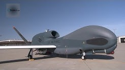RQ-4 Global Hawk UAV - Launching, Landing, Taxiing and Maintenance