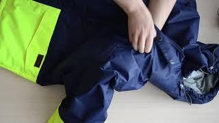 ОБЗОР сшитой мужской куртки горнолыжки| ANIVENS