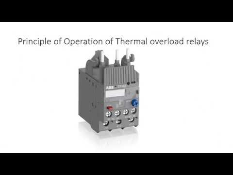 Overload Relay - Principle of operation