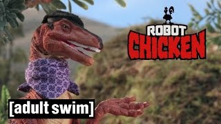 Jurassic Park Compilation | Robot Chicken | Adult Swim