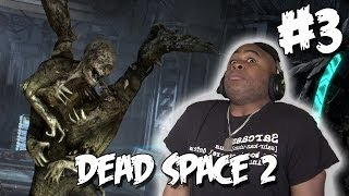►► FLYING ALIEN RAPIST - dead space 2 Lets Play Part 3