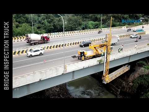 BUKAKA ROAD CONSTRUCTION EQUIPMENT - BRIDGE INSPECTION TRUCK