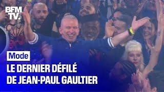 Le dernier défilé 5 étoiles de Jean-Paul Gaultier