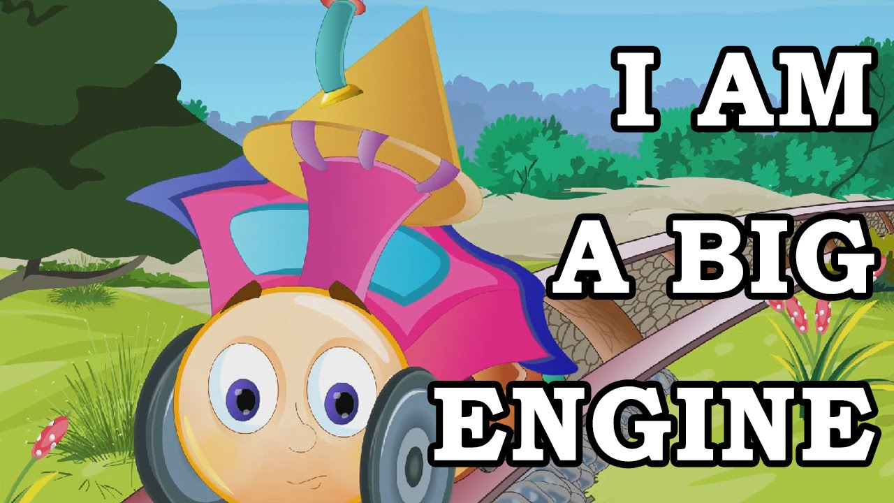 i am a big engine english nursery rhymes youtube