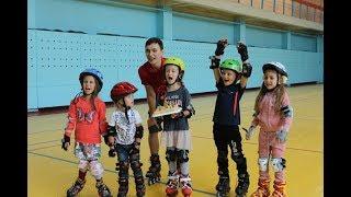 День рождения ребёнка на роликах в Омске
