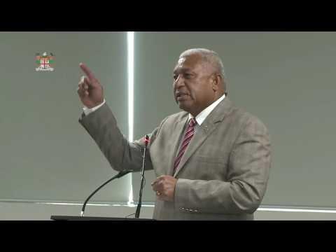 Fijian Prime Minister, Hon. Voreqe Bainimarama's brief on Fiji's COP 23 selection.