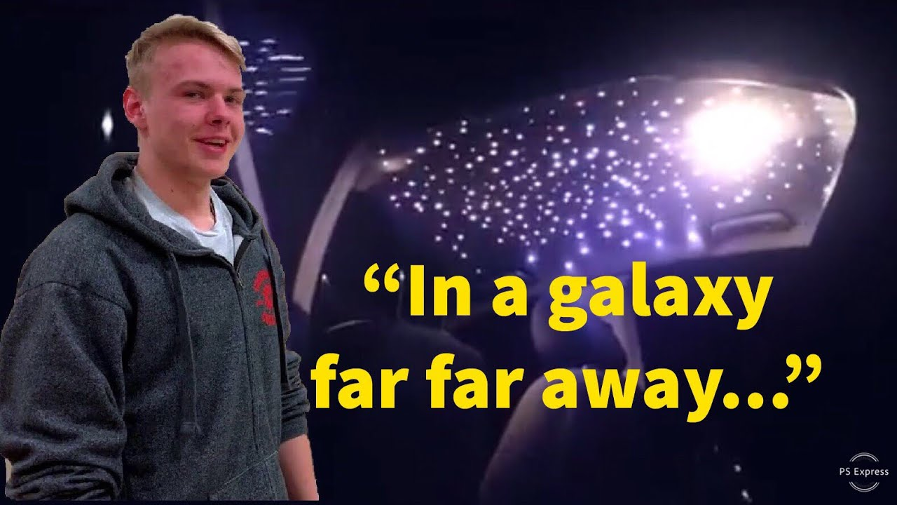 galaxy led headliner