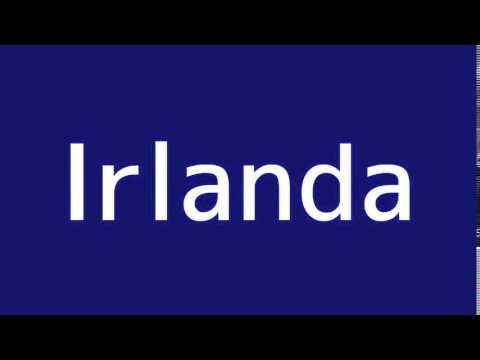 How to say ireland in spanish youtube how to say ireland in spanish m4hsunfo
