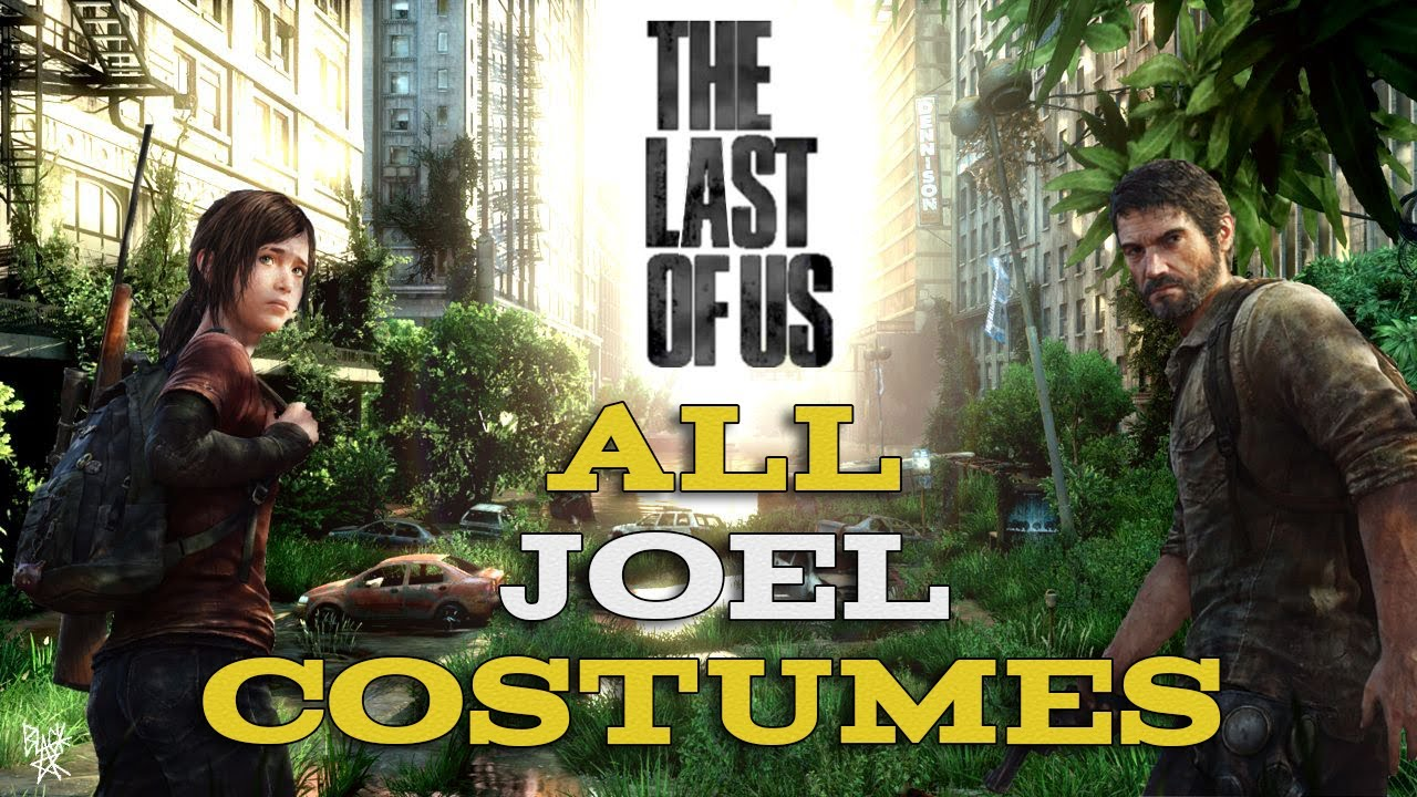 The Last of Us - All Joel Costumes - YouTube