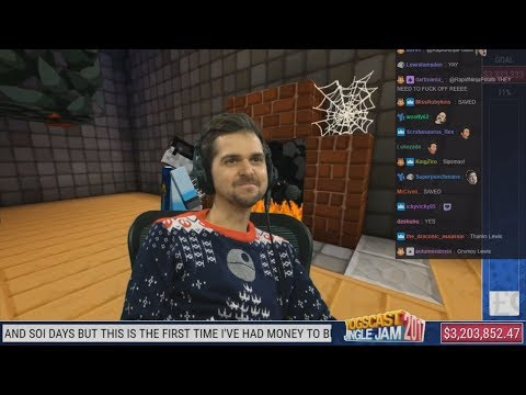 Simon and Lewis Reacts to ♪ Fairytale of Sipsco ♪ With Twitch Chat