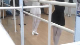 Открытый урок хореографии 20.04.2015г. Фрагмент. Хореограф Свиридова Ю.А.