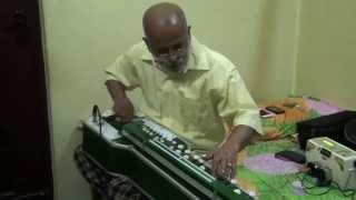 Kannada Song Karedaru Kelade(Sanaadi Appanna) on Bulbul Tarang/Banjo by Vinay M Kantak