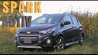 Chevrolet Spark Activ 2017 - Prueba de Manejo Car Globe