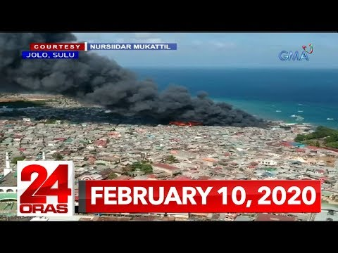 24 Oras Express: February 10, 2020 [HD]