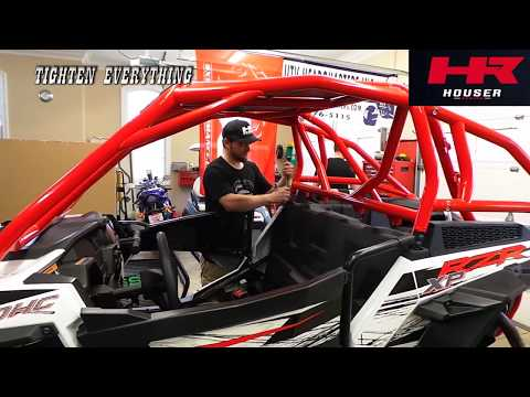 Polaris RZR XP1000 Roll Cage Install By Houser Racing