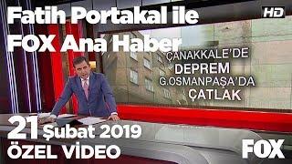 Yıldırım taksinin direksiyonuna geçti... 21 Şubat 2019 Fatih Portakal ile FOX Ana Haber