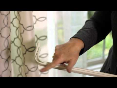 How to Install Sheer Curtains With Regular Curtains : Inspiring Home Looks