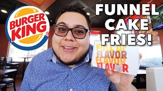 funnel cake fries burger king