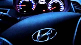 Hyundai Elantra 2014 г Стук при повороте руля на месте