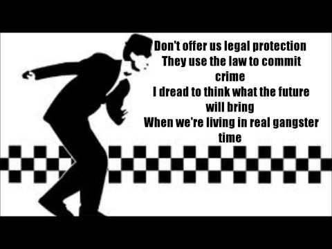 The Specials - Gangsters (Lyrics)